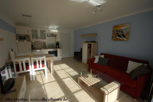 Villa Wohnzimmer : Wohnzimmer ferienwohnung villa olhörn